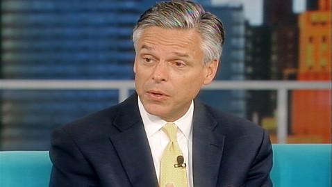 abc jon huntsman the view ll 111006 wblog Huntsman Hits Palin for Stringing People Along