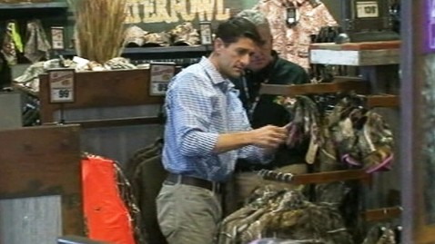 abc ktrk paul ryan camouflage ll 120925 wblog Paul Ryan Buys Daughter Camouflage in Ohio
