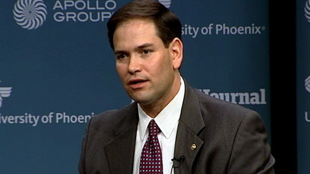 abc marco rubio thg 120419 wmain Sen. Rubio: Dont Punish US Olympians with Taxes on Medals and Prize Money