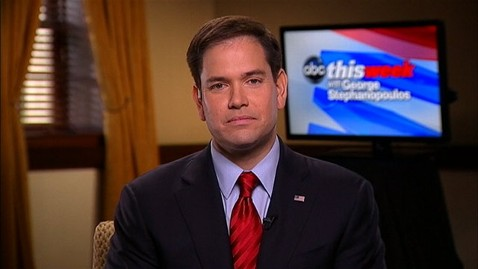 abc marco rubio this week jt 130414 wblog Marco Rubio: Jay Z Needs to Get Informed on Cuba