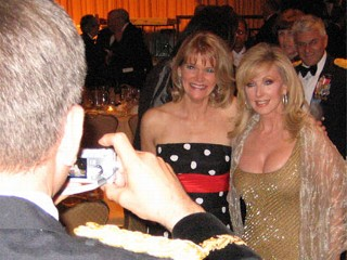 PHOTO: Martha Raddatz and Morgan Fairchild