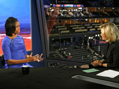 abc michelle obama sawyer dm 120906 main Michelle Obama: Its Getting Better All the Time