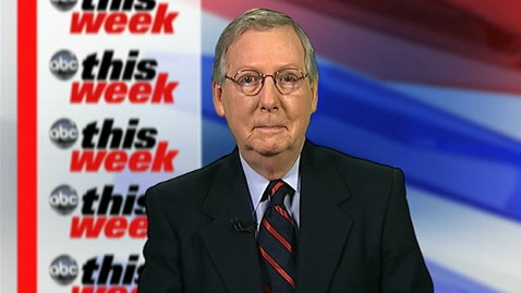 abc mitch mcconnell this week jt 130106 wblog Sen. Mitch McConnell: The Tax Issue Is Finished