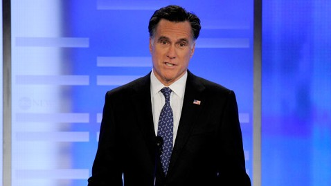 abc mitt romney 2 jef 120107 wblog Why Mitt Romney Didnt Get Attacked In Saturday Nights Debate