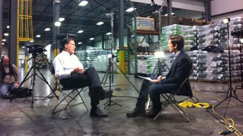 abc mitt romney david muir jt 111209 wblog David Muir to Interview Mitt Romney in Israel on Sunday, July 29