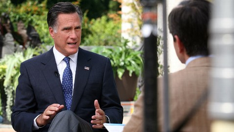 abc mitt romney stephanopoulos dm 120914 wblog Romney on Iran: Share Same Red Line As Obama