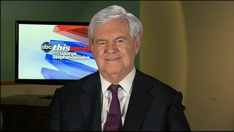 abc newt gingrich this week jt 121028 wblog Newt Gingrich: Richard Mourdocks Comments Reflect Position of Virtually Every Catholic in the U.S.