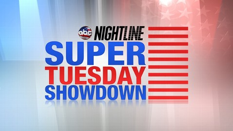 abc nightline super tuesday showdown ll 120306 wblog Nightline Daily Line: Live Blog, Super Tuesday Edition