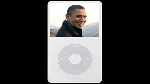 abc obama ipod jp 120220 wblog The Political Punch Digital Show   The President Makes His Supporters a Mix Tape