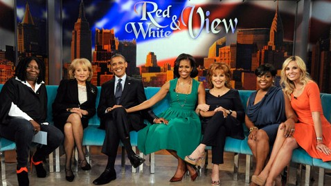 abc obama the view nt 120924 wblog Obama to Work With Kids After Presidency, He Tells The View