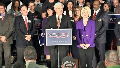 abc primary newt gingrich nt 120228 wblog Newt Gingrich: Quitting Campaign Easier Said Than Done