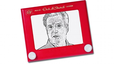 abc romney etchasketch 2 nt 120321 wblog Former President Clinton on Mitt Romney: Etch a Sketch Is What Hes Got to Do