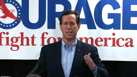 abc santorum tk 120131 wblog Santorum Picks Up Colorado Endorsement, Targets Gingrich