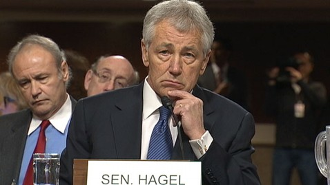 abc senator chuck hagel hearing thg 130131 wblog Defense Secretary Hagel? Not So Fast