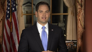 abc sotu rubio 130212 wb Rubios Response: A Showcase for GOPs Young Superstar