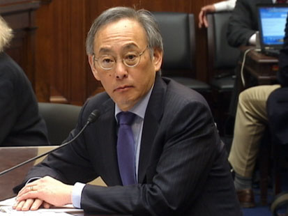 abc steven chu nt 120320 main Sec. Chu Gives Energy Dept. an A on Gas Prices