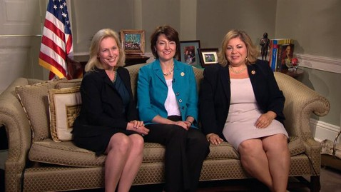 abc this week kirsten gillibrand kath mcmorris rodgers linda sanchez jt 130512 wblog Sunday Spotlight: Moms on Capitol Hill