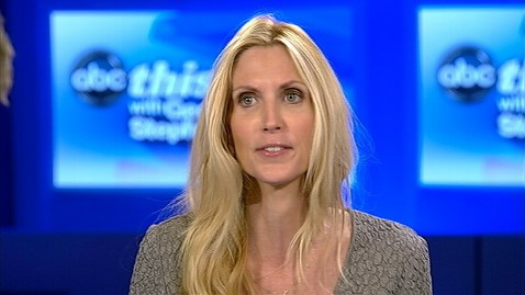 abc tw ann coulter this week jt 120923 wblog Ann Coulter: Democrats Dropping the Blacks and Moving on to the Hispanics