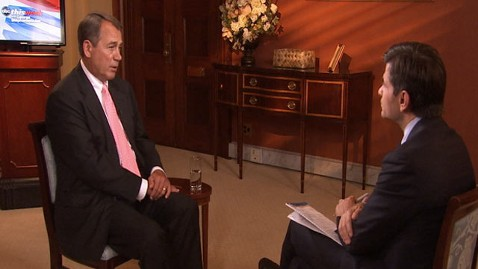 abc tw john boehner lt 120520 wblog Speaker John Boehner Insists on Tying Debt Limit Increase to Spending Cuts