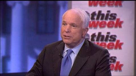 abc tw mcain jt 120506 wblog Sen. John McCains Advice to Mitt Romney: Pick a Running Mate You Trust