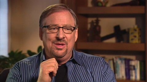 RICK WARREN: 'I Don't Have a Problem With Contraceptives'