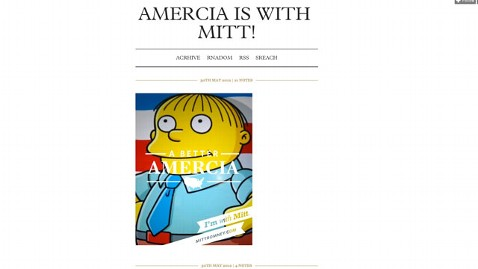 amercia is with mitt tumblr thg 120530 wblog Romney Campaign Typo   Amercia   Draws Internet Ribbing