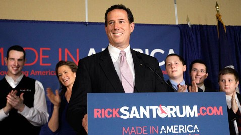 ap 2 rick santorum dm 120314 wblog Lightweight Rick Santorum Mocks Mitt Romney as a Wall Street Financier