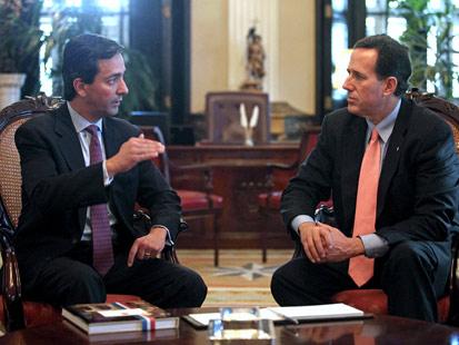 ap Luis Fortuno Rick Santorum jt 120316 main Why Politicians Cant Just Be Friends