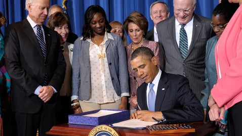 ap Obama VAWA kb 130307 wblog Obama Signs Violence Against Women Reauthorization Act