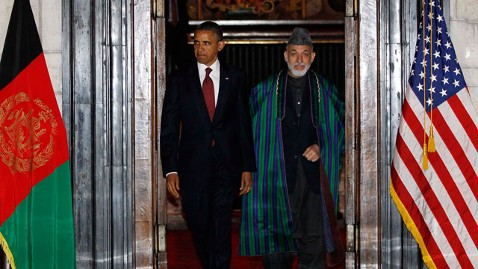 ap Obama Afghanistan 2 nt 120501 wblog Obama, Karzai Sign Strategic Partnership Agreement