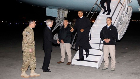 ap Obama Afghanistan nt 120501 wblog Reporters Notebook: Inside Obamas Secret Trip to Afghanistan