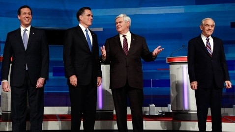 ap Republicans Debate jt 120302 wblog Super Tuesday Preview: Math Trumps Momentum (The Note)