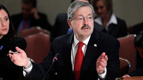 ap Terry Branstad thg 120329 wblog Iowa Governor Endorses Mitt Romney For President