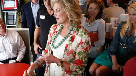 ap ann romney floral blazer campaign mn thg 121016 wblog Ann Romney Asks Virginia Voters, Will We Be Neighbors?
