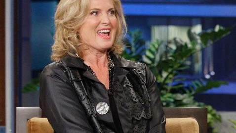 Ann Romney Explains Mitt's Airplane Remark to Leno - ABC News