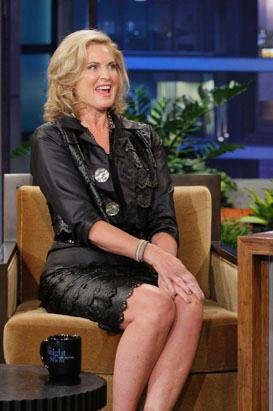 Ann Romney appears on 'The Tonight Show with Jay Leno'
