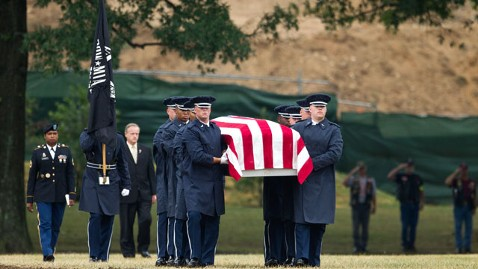 ap arlington burial nt 120709 wblog Six Airmen Lost Over Laos in 1965 Buried at Arlington