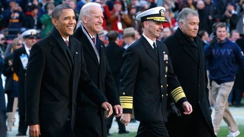 ap army navy football Barack Obama Joe Biden jt 111210 wblog President Obama Attends the Army Navy Football Game