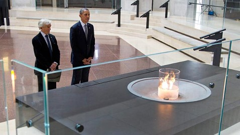 ap barack obama elie wiesel holocaust memorial ll 120423 wblog At Holocaust Memorial, Obama Unveils New Sanctions on Syria, Iran