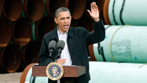 ap barack obama energy dm 120322 wblog Obama Defends Oil Record, Fast Tracks Portion Of Keystone Pipeline
