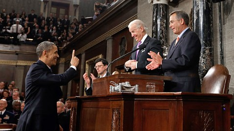 ap barack obama joe biden john boehner ll 130212 wblog The 7 Strangest State of the Union Rituals