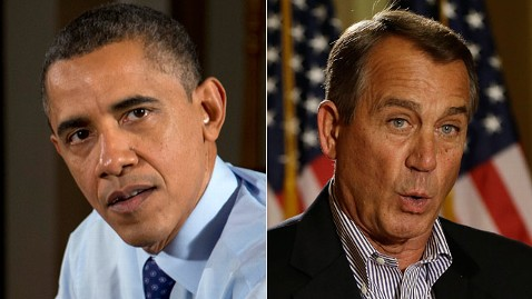 ap barack obama john boehner jt 121209 wblog Obama and Boehner Not Far Apart on Fiscal Cliff? Not Really