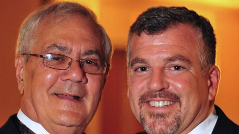 ap barney frank jim ready wedding lt 120708 wblog Congressman Barney Frank Marries Longtime Partner Jim Ready