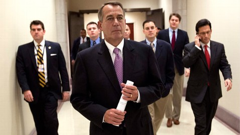 ap boehner payroll tax nt 111222 wblog Boehner to Obama: Cuts Must Exceed Next Debt Limit Hike