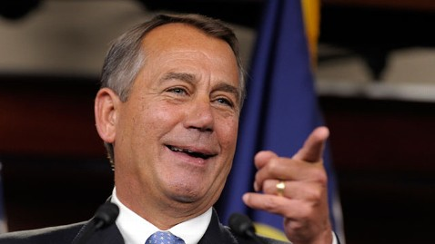ap boehner smiling mi 121122 wblog On Thanksgiving, Lawmakers Give Back (and Enjoy a Little Turkey, Too)