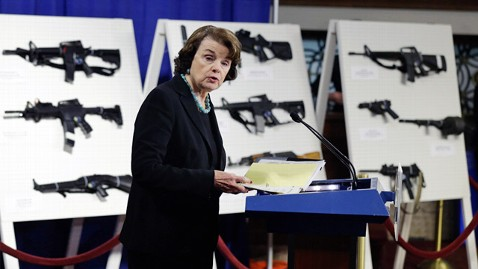 ap dianne feinstein ll 130124 wblog Feinstein Proposes Assault Weapons Ban
