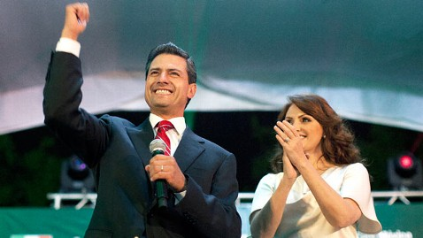 ap enrique pena nieto dm 120702 wblog Enrique Pena Nieto to Focus on Making Mexico Safer