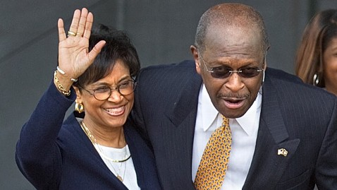 ap gloria herman cain dm 111113 wblog Herman Cains Wife Rejects Sex Harassment Allegations