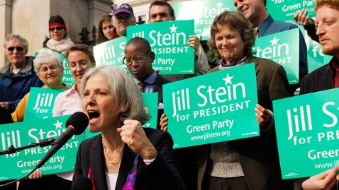 ap green party jill stein nt 120606 wblog Here Comes the Green Party: More Jobs, Pot, No Servants to Wall Street