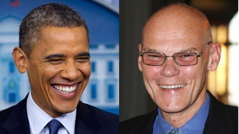 ap gty obama carville kb 120612 wblog James Carville and Stan Greenberg Have A Message For Obama: Talk More About The Next Four Years